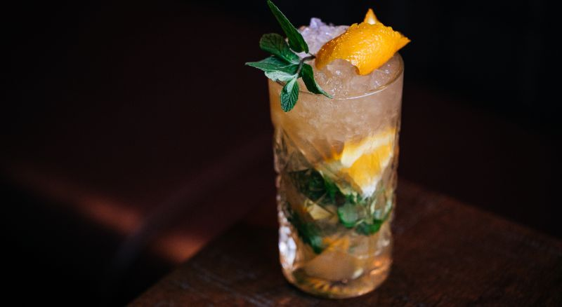 SPICED ORANGE MOJITO