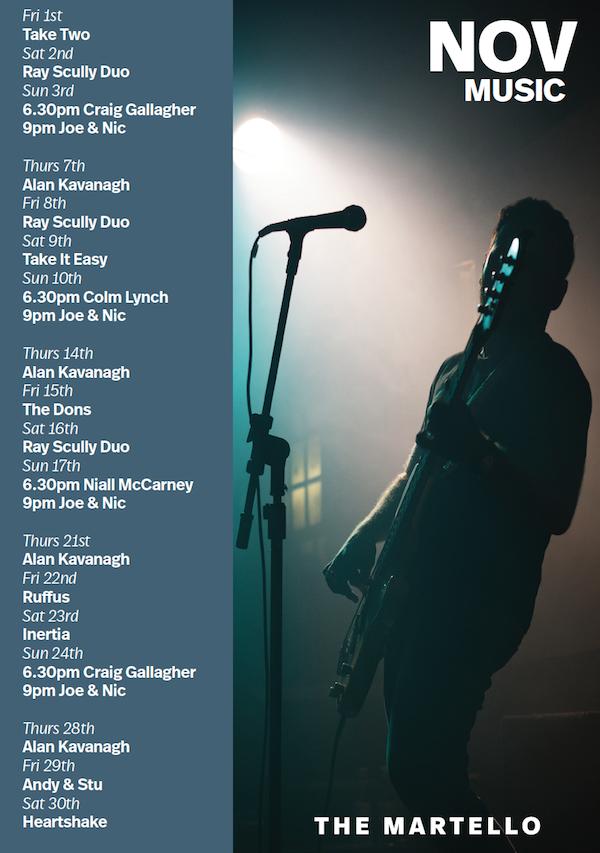 november music poster
