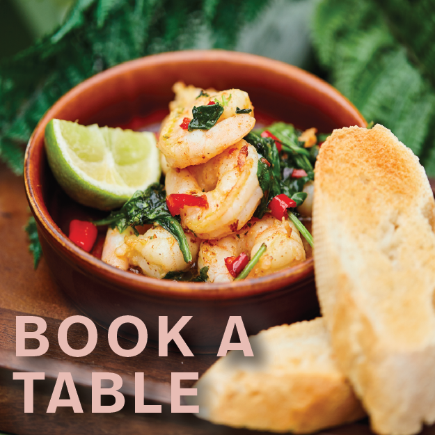 Book a table - stay and spend